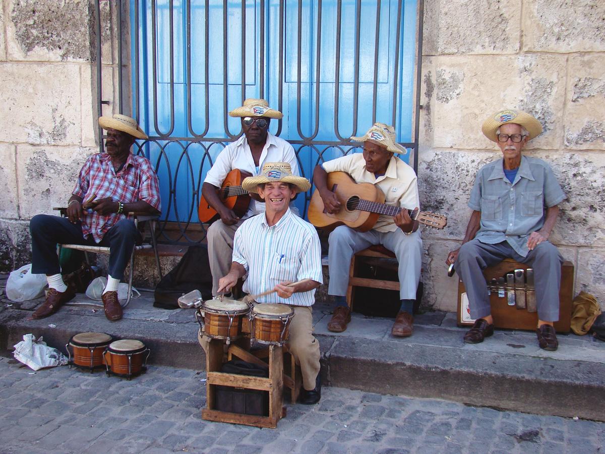 Havana street musicians // Cuba