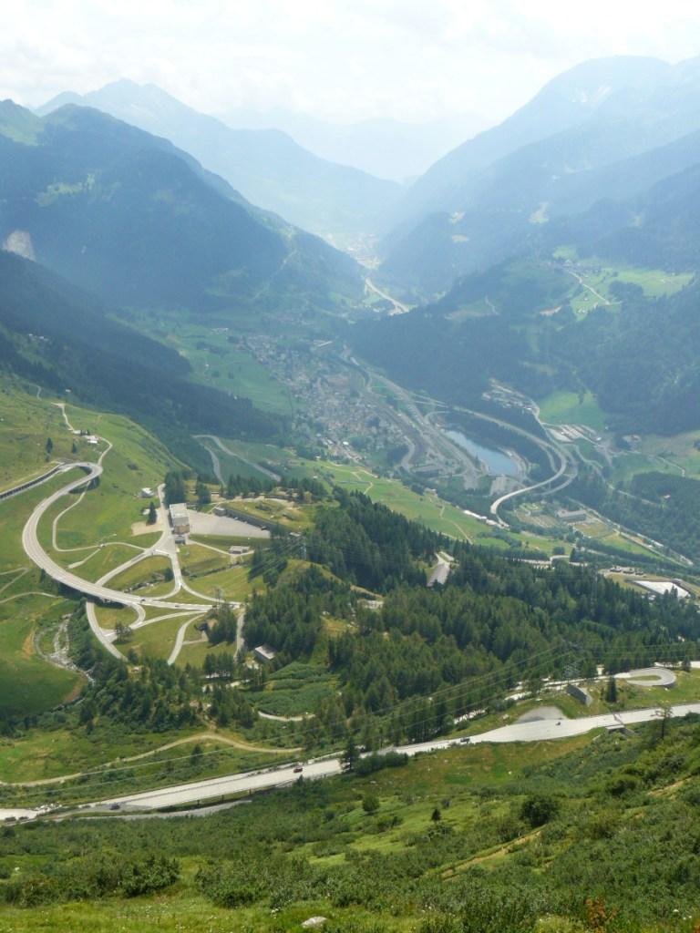 Gothard pass // Italy