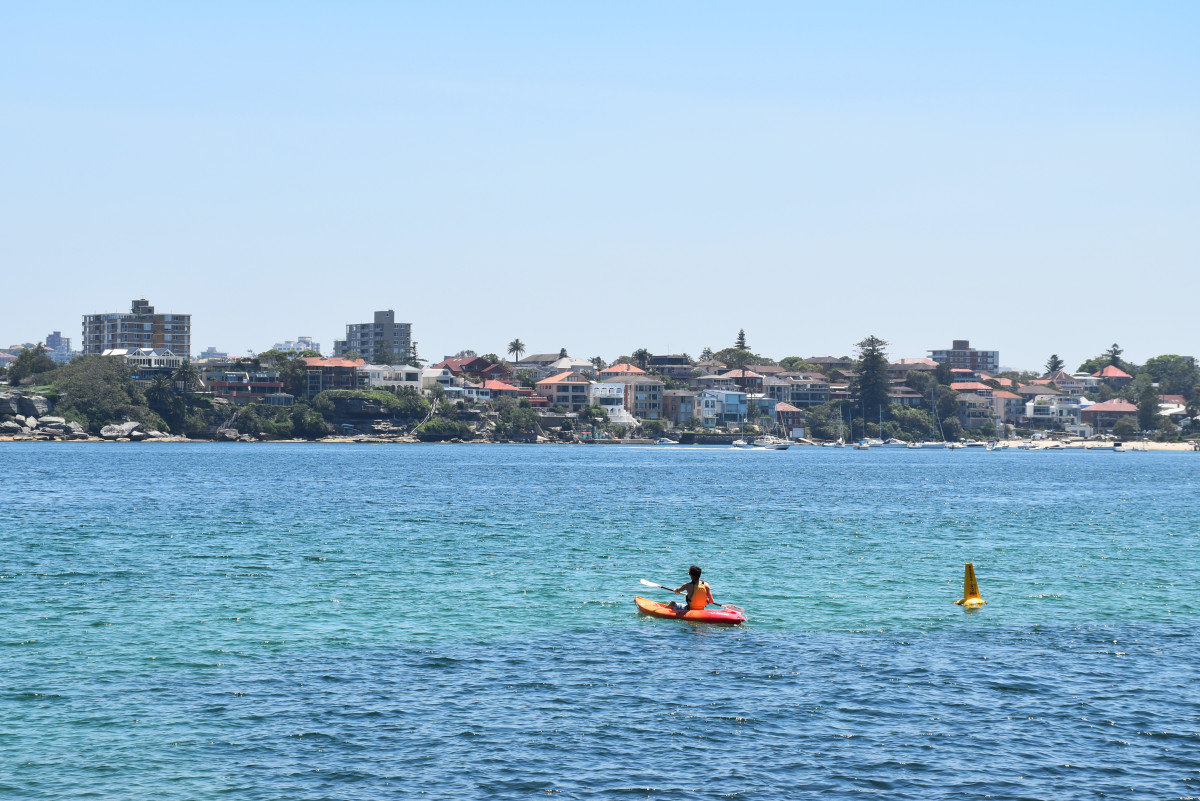Australia // Kayak Manly Beach