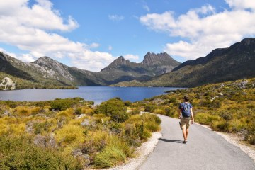 Australia Tasmania Cradle Mountain