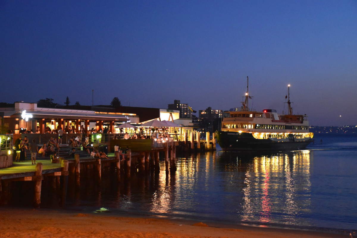 Manly Wharf Ferry Sydney