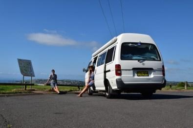 Campervan Road Trip New South Wales Australia