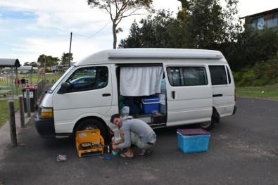 Camping near Batemans Bay New South Wales Australia