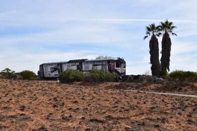 Train Wreck Mildura Victoria Australia