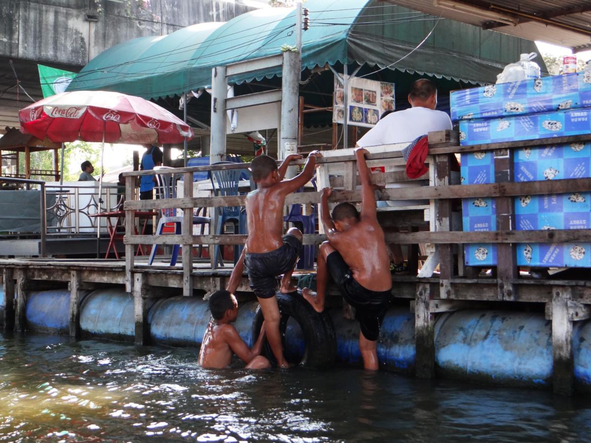 Thailand Bangkok Longtail Boat Klongs