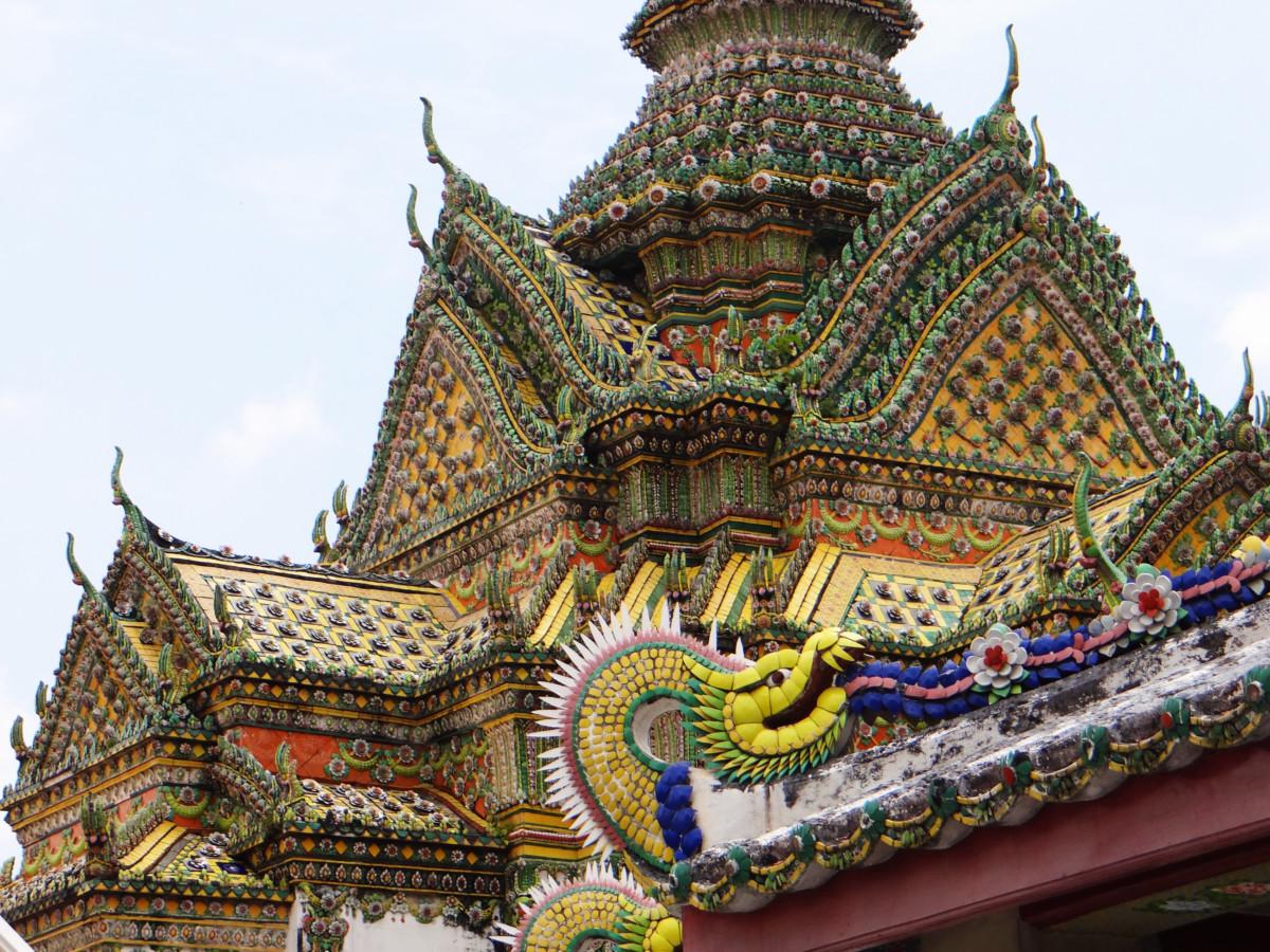 Thailand Bangkok Wat Pho Temple