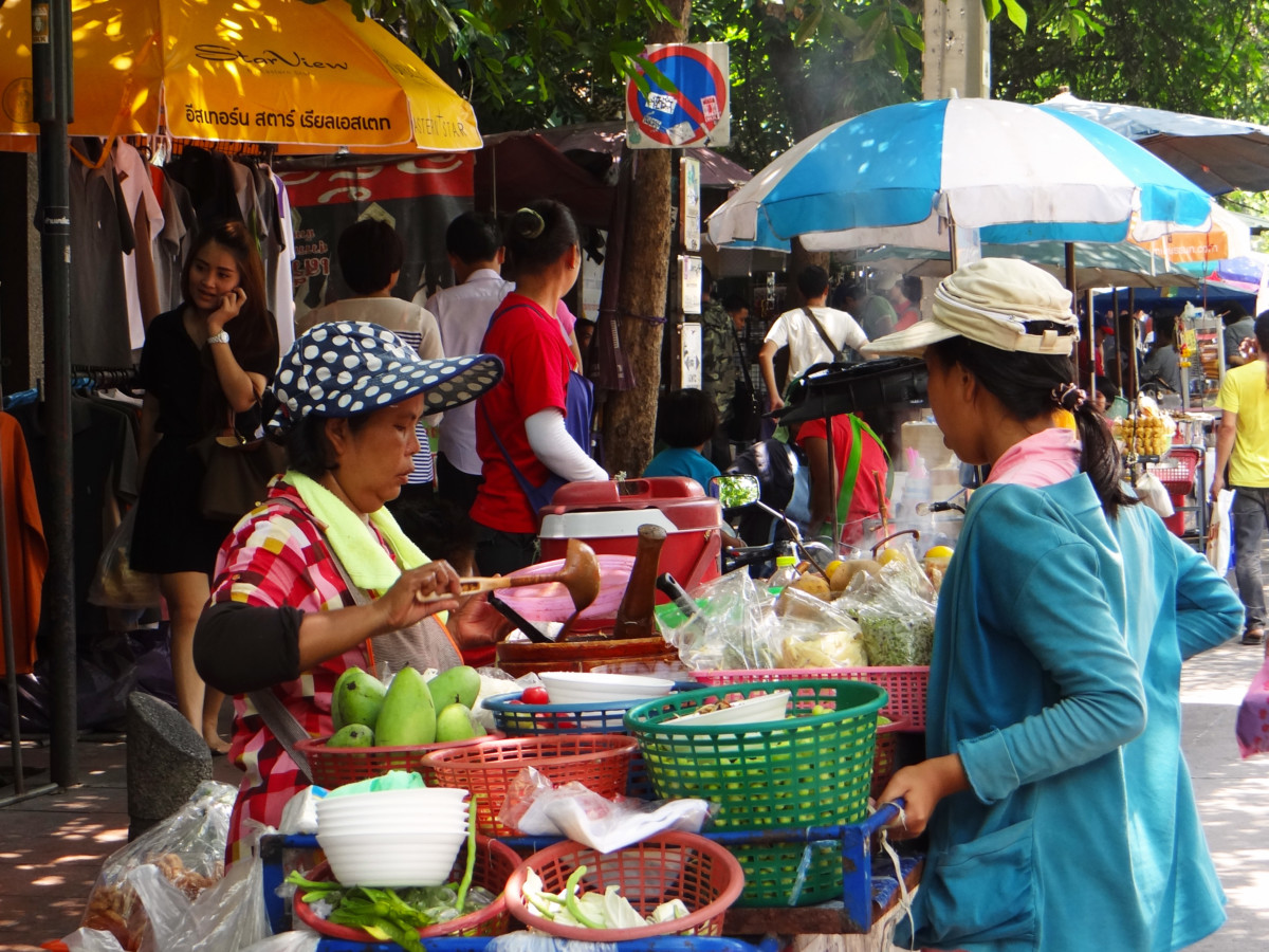 Thailand Bangkok Chatuchak Weekend Market