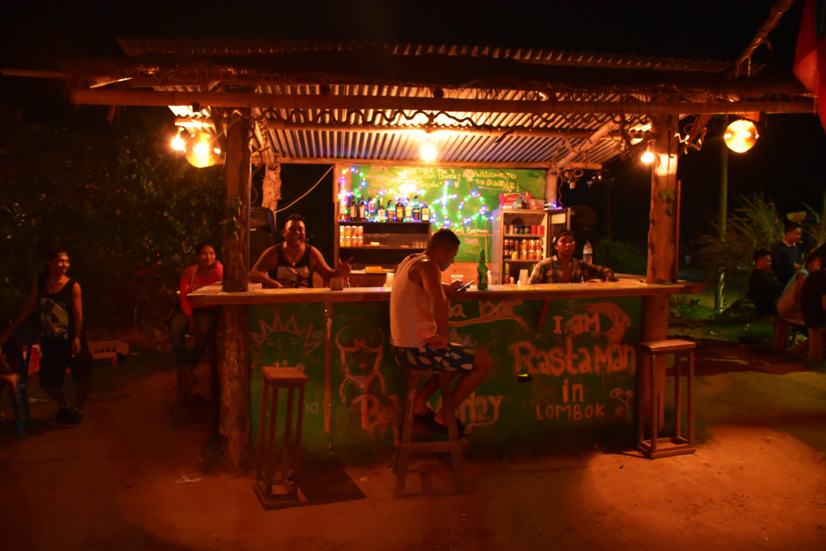 Rasta Bar Kuta Lombok Indonesia
