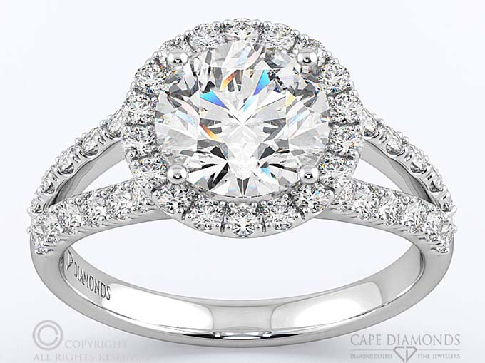Split Band Engagement Amp Wedding Ring Collection Cape
