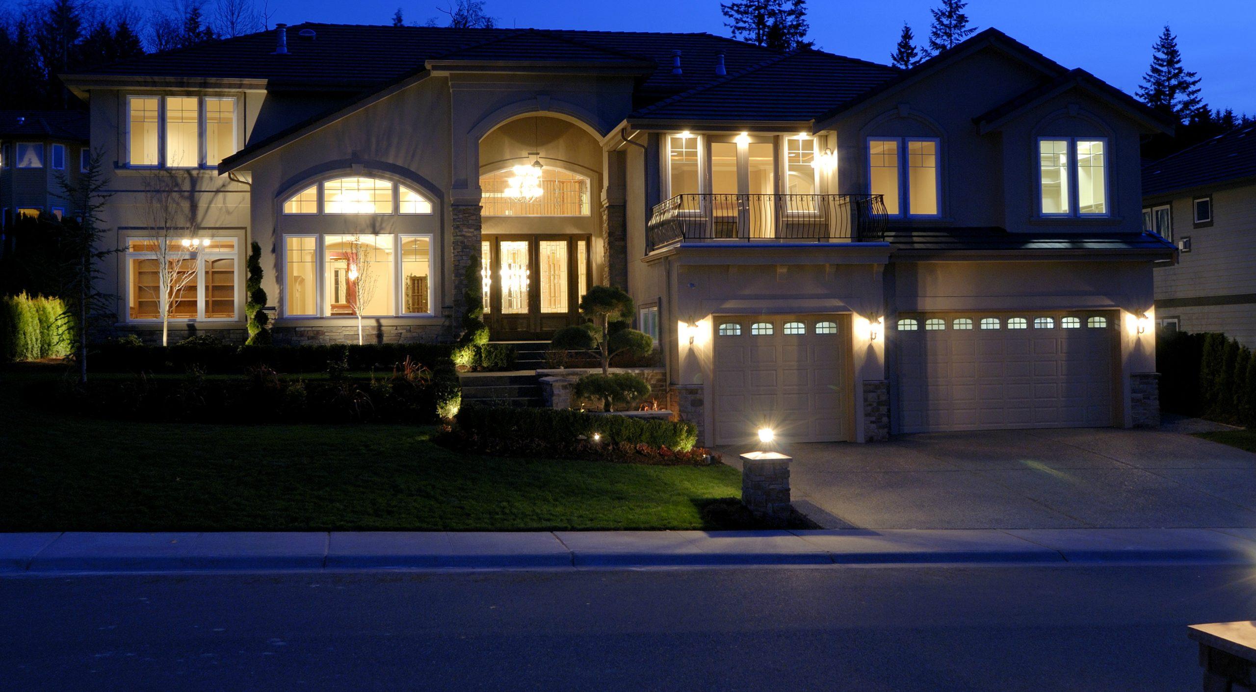residential decorative lighting cape