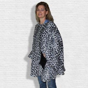 Hospital Gift Warm Fleece Poncho Cape