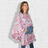 Hospital Gift Woman Poncho Cape