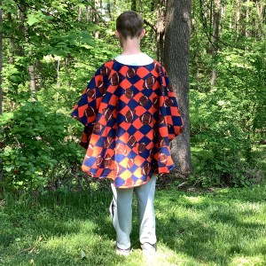 Boys Fleece Poncho