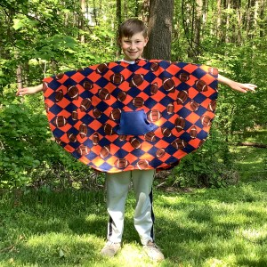 Boy Hospital Gift Fleece Poncho