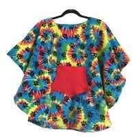 Hospital Gift Child Fleece Poncho Cape