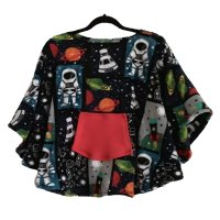 Kid's Hospital Gift Fleece Poncho Cape