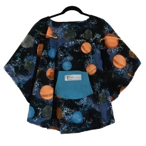 Hospital Gift Child's Fleece Poncho Cape