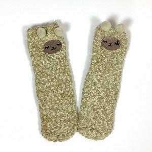 Child Small Adult non-slip gripper socks Cape Ivy Lambs
