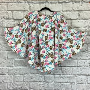 Child Hospital Gift Fleece Cape Ivy Slothes