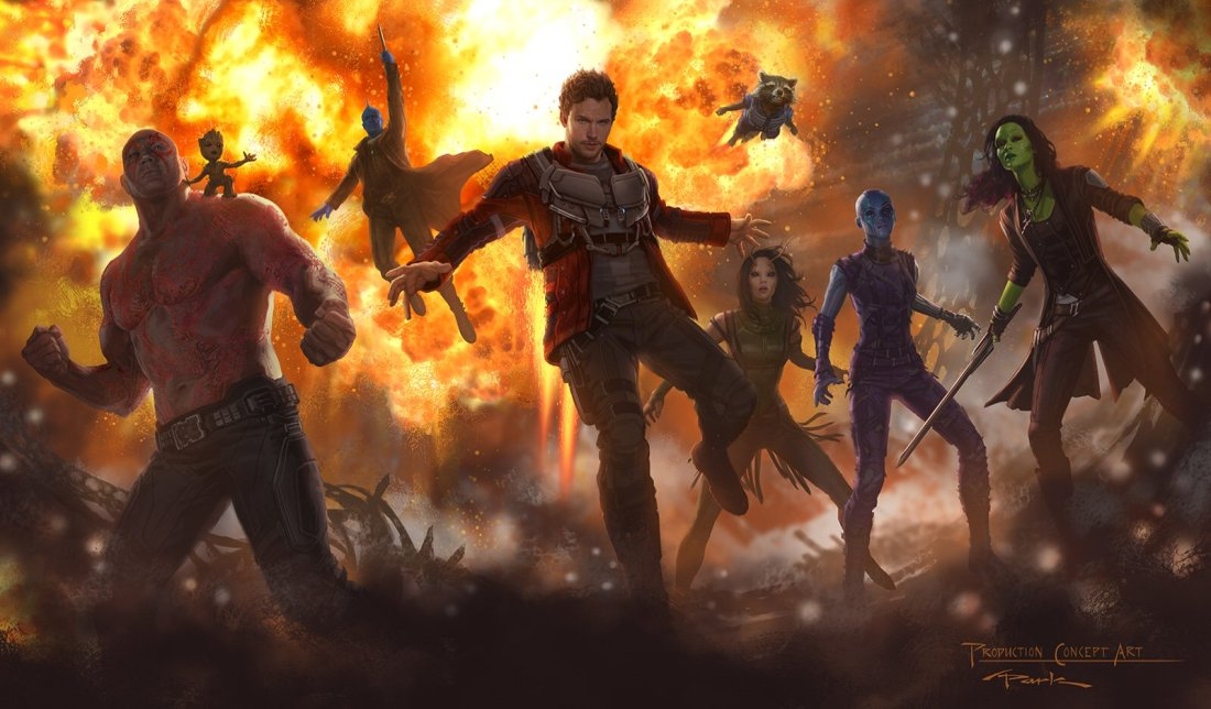 Concept Art for Guardians of the Galaxy volume 2
