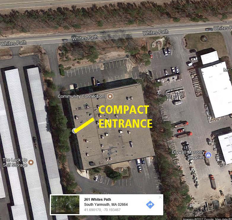 google earth image of cape light compact office building