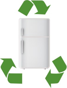 recycle fridge