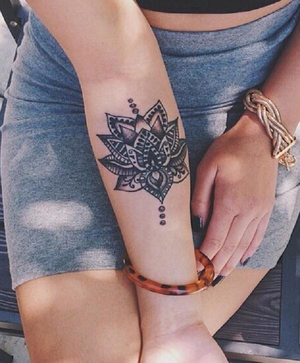 Tatuaggi Fiori Di Loto Origine Significati E Foto