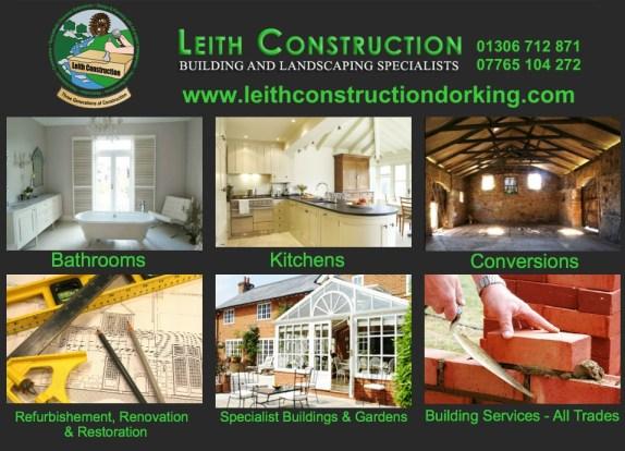 leith construction capel village advert