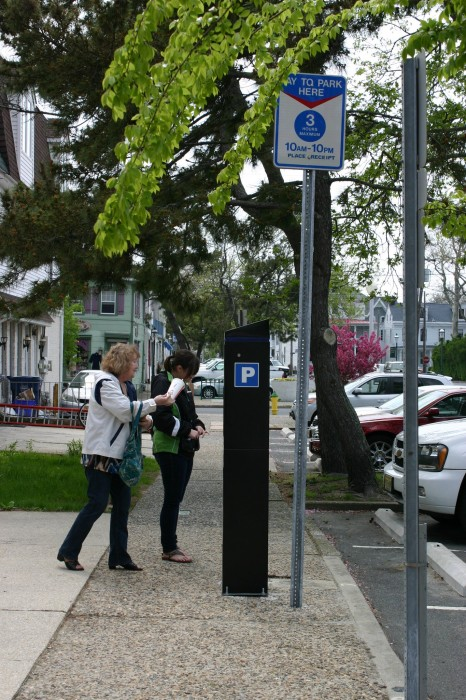 new Cape May parking meters