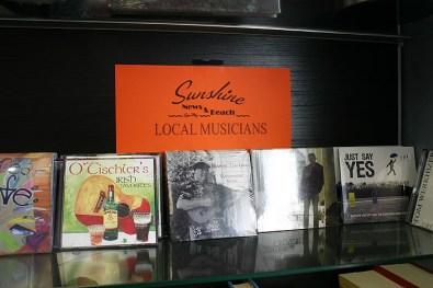 Sunshine News & Beach prides itself on promoting local artists