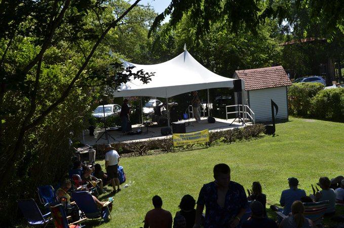 music tent