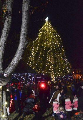 MAC's Christmas tree