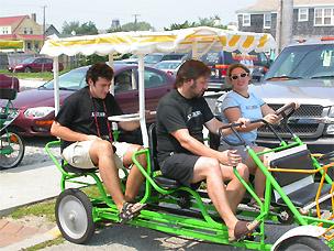 Maciej, Jack, and Stefanie from Exit Zero