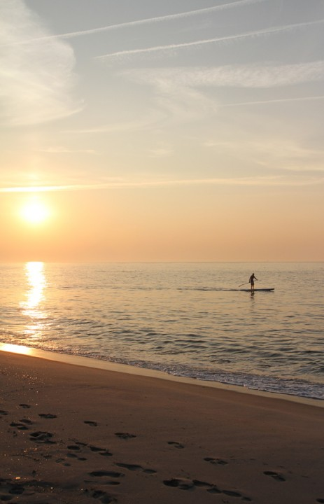 Would you try sunrise paddle boarding?