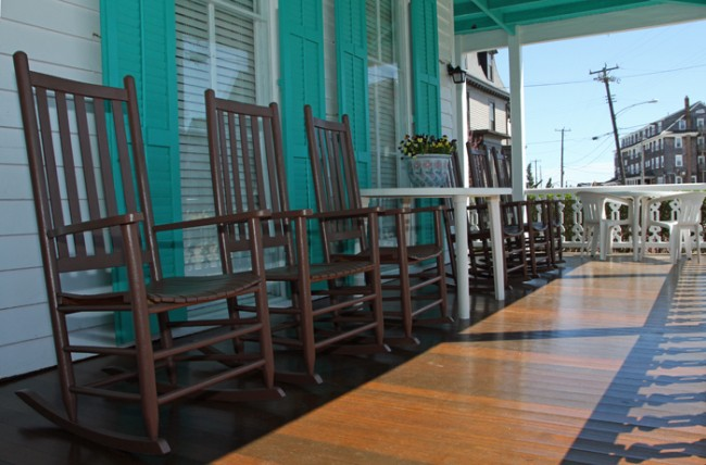 Cooper's Guest House Porch