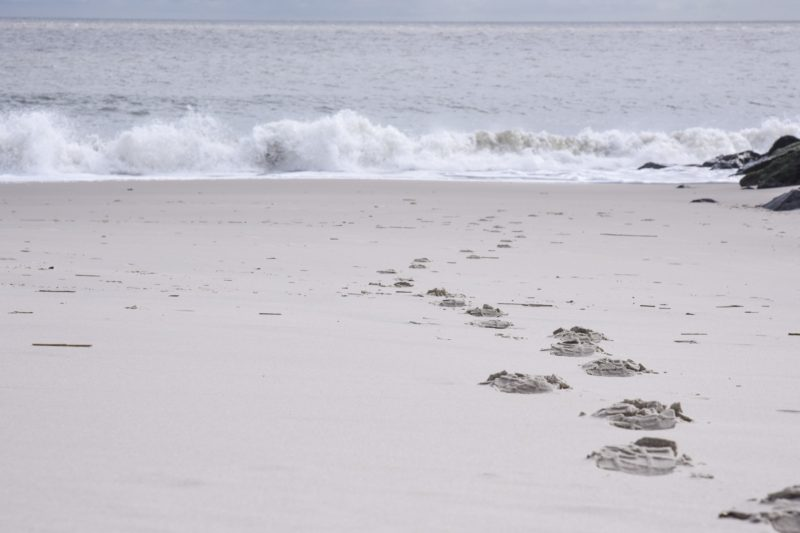 October Footprints