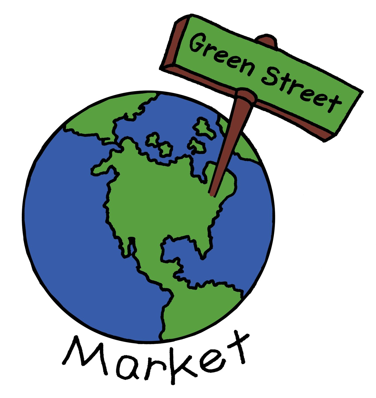 Green Street Market logo