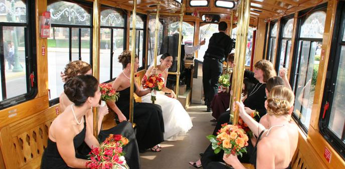 Great American Trolley Company Cape May Beach Weddings Capemay Com