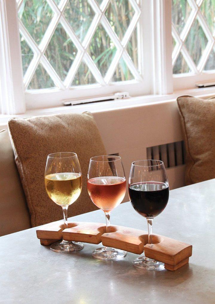 Cocktail: Flight of Wine