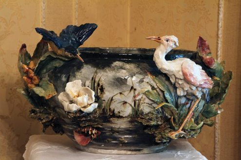 The Majolica bowl