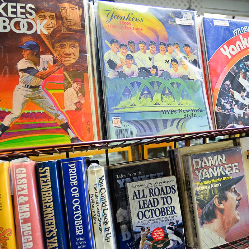 Yankees yearbooks