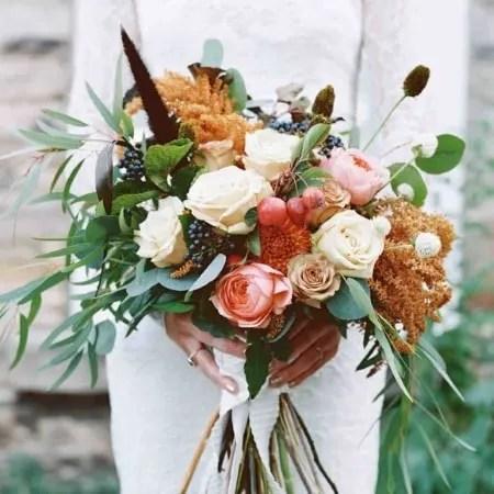Autumn Wedding Flowers Capesthorne Hall And Weddings