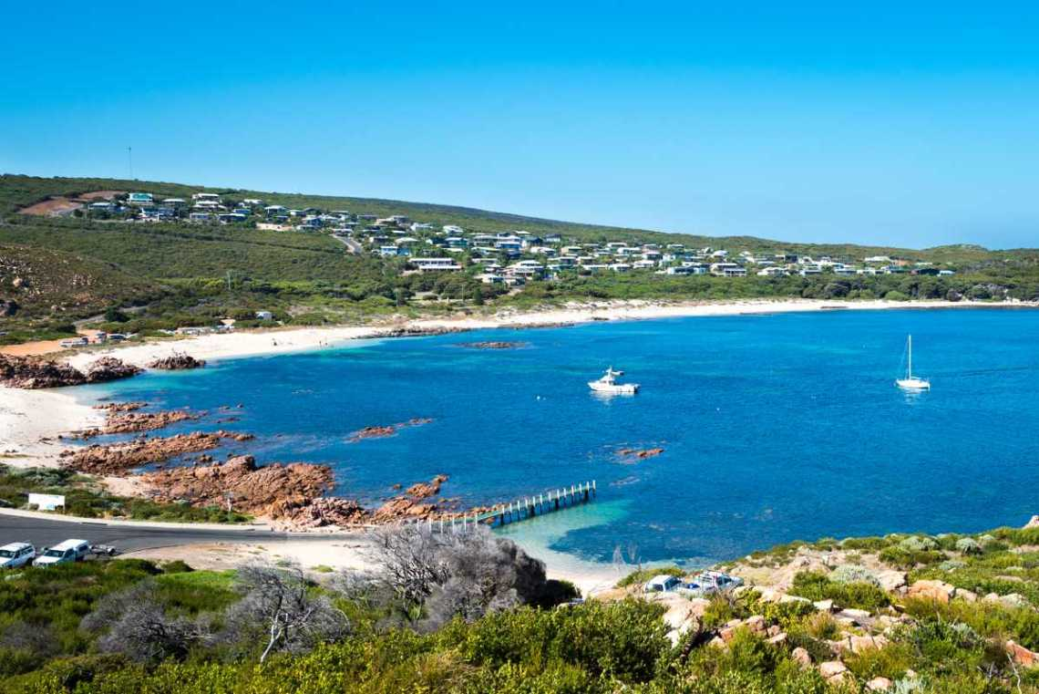 Cowaramup Bay at Gracetown; Day 3 of our 9-day itinerary