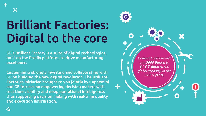 Brilliant Factories: Digital to the core