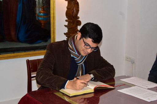 firma libro visitas osuna