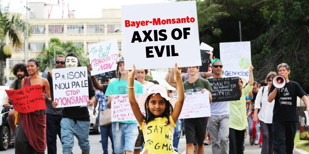 Bayer-Monsanto : Le nouvel habillage du mal