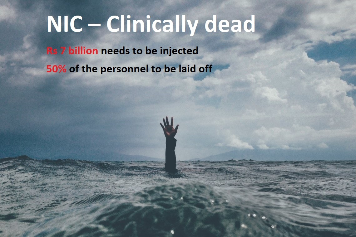 NIC – Clinically dead