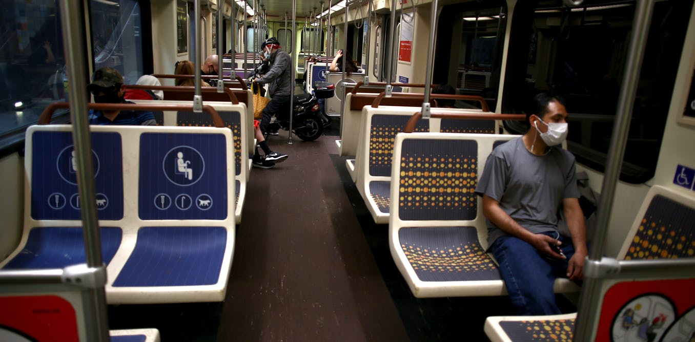 Coronavirus lockdowns are pushing mass transit systems to the brink – and low-income riders will pay the price