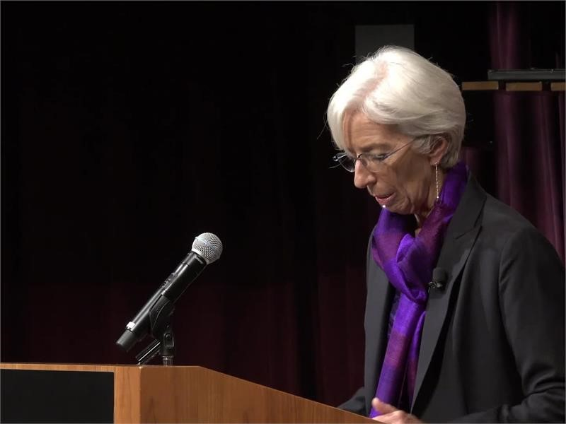 IMF Media Center : IMF Economy Speech Harvard