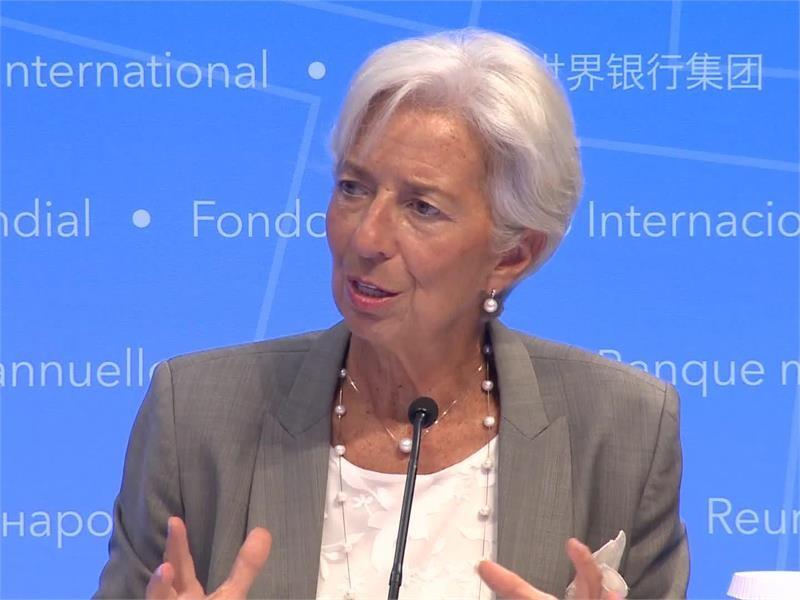 IMF Media Center : IMF Lagarde Presser